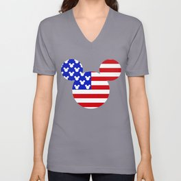 American Mouse Unisex V-Neck