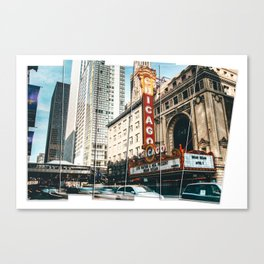 Chicago, United States 4c Canvas Print