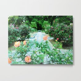 Ringling Gardens Metal Print