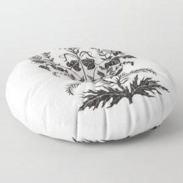 Wild Weeds Floor Pillow
