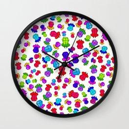 ring pop heaven Wall Clock