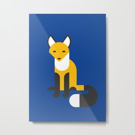 The Year of the Fox Metal Print