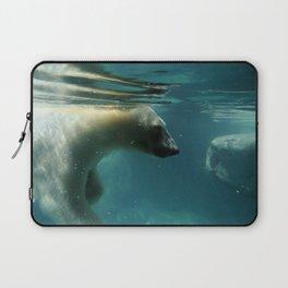 Peaceful Polar Bear Laptop Sleeve