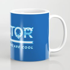 DOCTOR (Time Travellers Are Cool) Coffee Mug