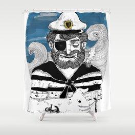 Capitão Shower Curtain