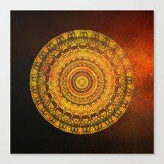 Sun Mandala 5 Canvas Print