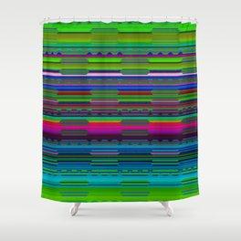 RhythmPulse 03 Shower Curtain