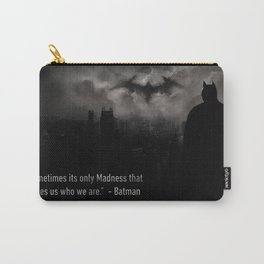 Bat man Madness Carry-All Pouch