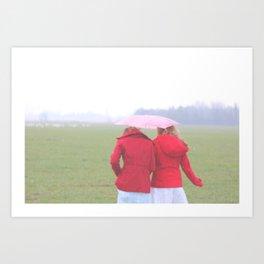 Red Coats Art Print