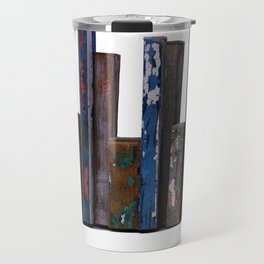 Residual City #5 Sculpture by Annalisa Ramondino Travel Mug