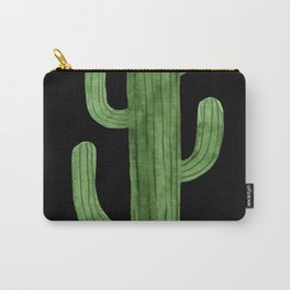 Cactus Solo on Black Carry-All Pouch