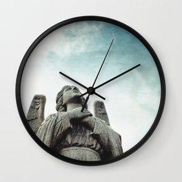 Stone Angel Wall Clock