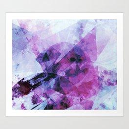 Precipice in Purple II Art Print