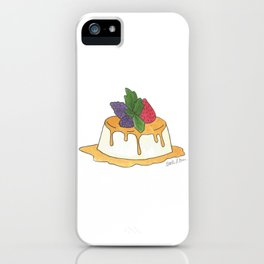 F is for Flan iPhone Case
