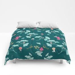 Ginkgo Midori Comforters