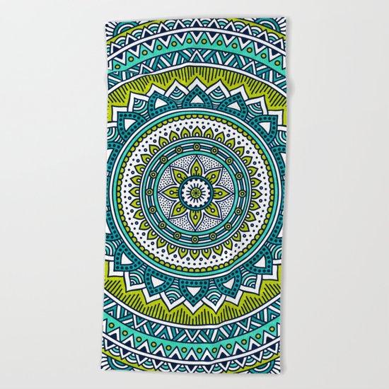 Hippie Mandala 2 Beach Towel