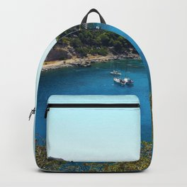 Rhodes Greece Anthony Quinn Bay Backpack
