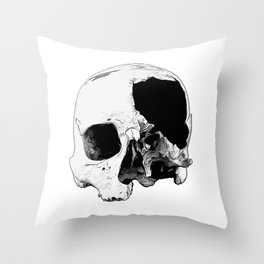 In Thee Dark We Live Throw Pillow