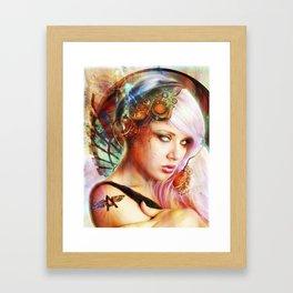 Astrid the Navigatrix Framed Art Print