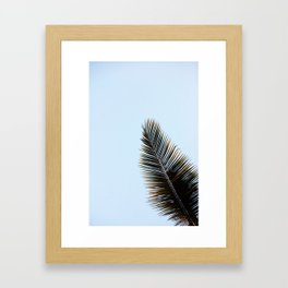 Palmera Framed Art Print