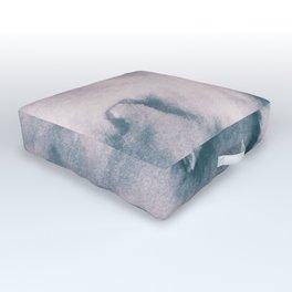 Watercolor texture - neutral Outdoor Floor Cushion
