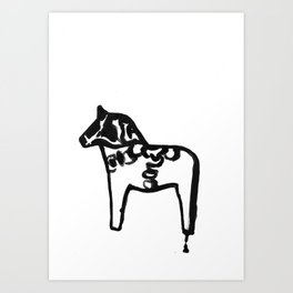 Dalecarlian Art Print
