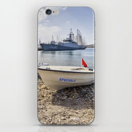 When I Grow Up I Want To Be A Warship iPhone Skin
