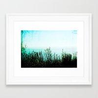 big sur Framed Art Prints featuring Big Sur by Mermaid's Coin Surf Art * by Hannah Kata