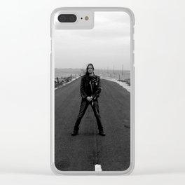Fenriz Holy Island 1 Clear iPhone Case