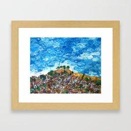 View of Bernal Hill Framed Art Print