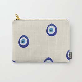 Eye'm Watching You- Blue Evil Eyes Carry-All Pouch