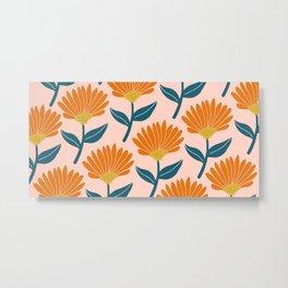 Floral_pattern Metal Print