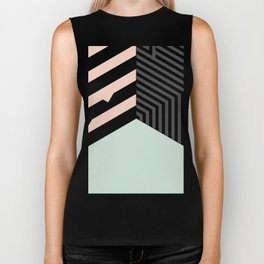 Mint Room #society6 #decor #buyart Biker Tank