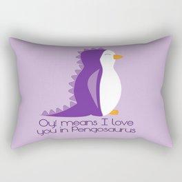 Pengosaurus Rectangular Pillow