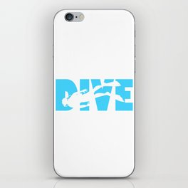 Scuba Diving iPhone Skin