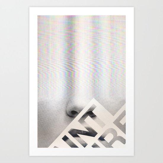 Elle #18 Art Print