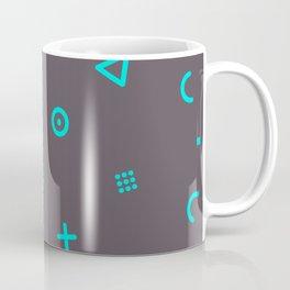 Happy Particles - Grey Coffee Mug