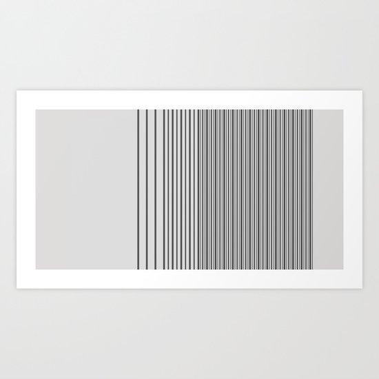 Gradient-A. Art Print