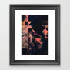 nyxt chyptyr Framed Art Print