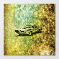 car Canvas Prints featuring car by Creative Safari