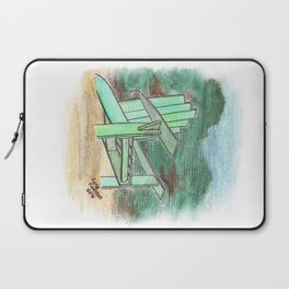 Green Chair - St. Paul Attraction Laptop Sleeve