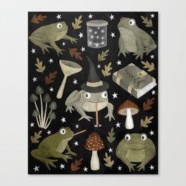 toad spells Canvas Print