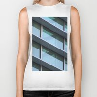 architecture Biker Tanks featuring Architecture by Alex Dodds