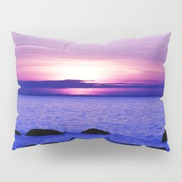 Dusk on the Saint-Lawrence Pillow Sham