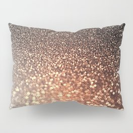 Tortilla brown Glitter effect - Sparkle and Glamour Pillow Sham