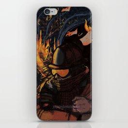 Fahrenheit 451 iPhone Skin