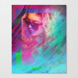 Lost In The Matrix Canvas Print