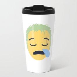 Roronoa Zoro Emoji Design Travel Mug