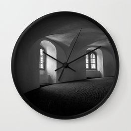 Inside the Round Tower Wall Clock