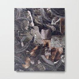 Bound Woman Metal Print